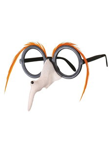 Witch Nose Glasses with Pop Out Eyes Fancy Dress Costume Halloween Accessory